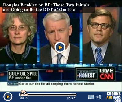 Riki  Ott and Douglas Brinkley on Anderson Cooper 360
