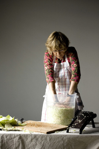 Chop, Salt, Pack, Wait: Four Simple Steps to Making the Best Saurkraut on Earth