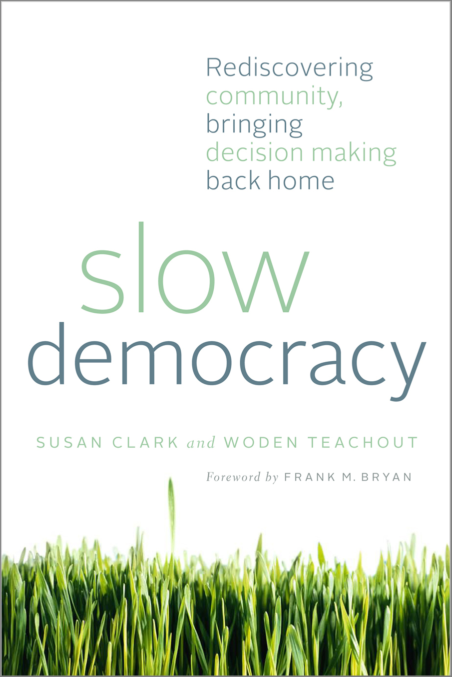 Slow Democracy: Online Book Club