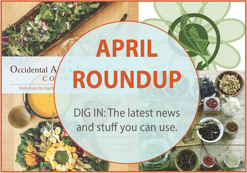 April Roundup: News, Views & Stuff You Can Use