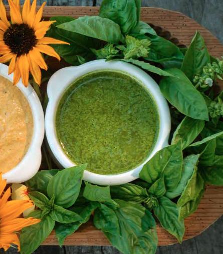 RECIPE: Veggie Mandala with Chervil Aioli Sauce