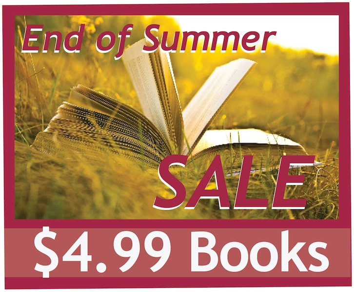 End of Summer Sale: $4.99 Bargain Books