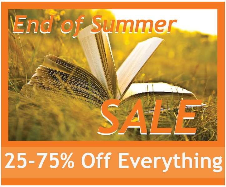 End of Summer Sale: Everything on Sale!