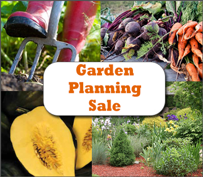 Garden Planning Sale: 25% Off All Gardening Books