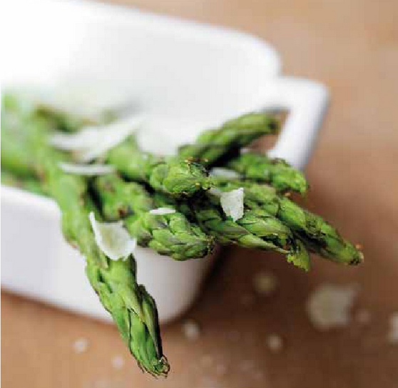 RECIPE: Grilled Asparagus & Scallions