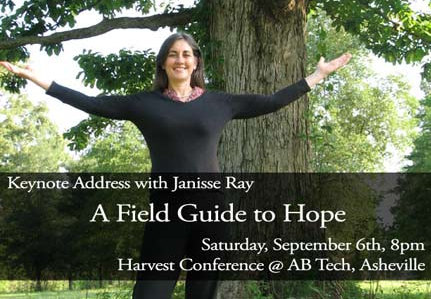 Janisse Ray to Keynote First Annual Harvest Conference