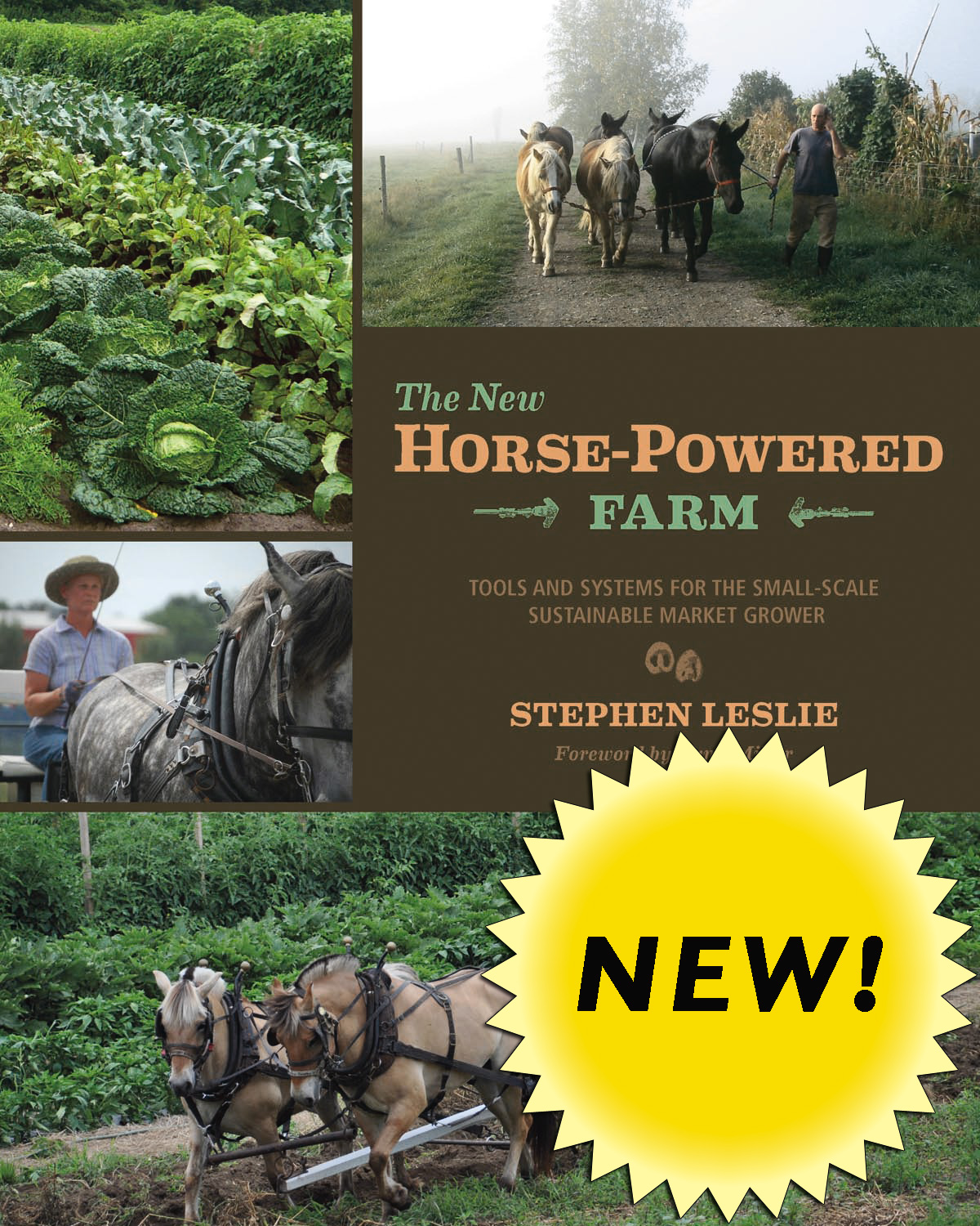 New Horse Powered Farm Cover