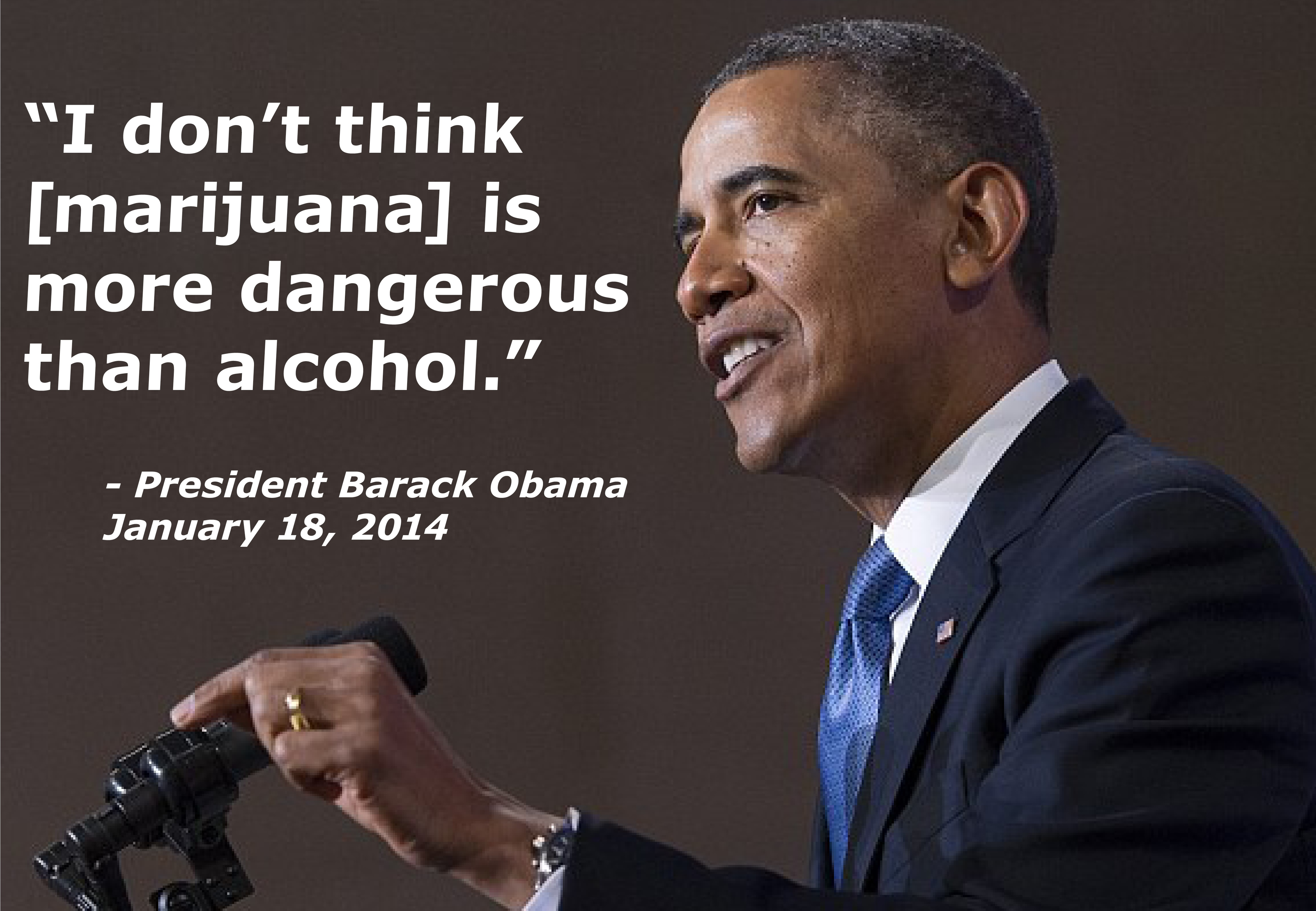 Obama on Marijuana