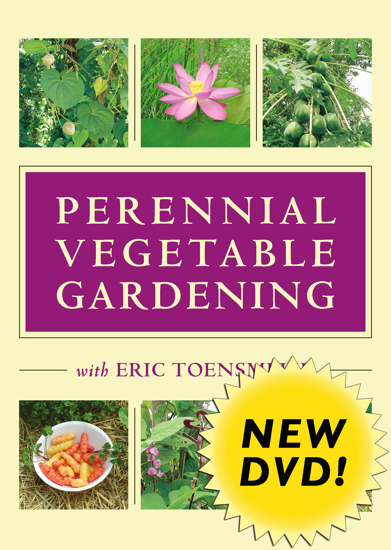 Perennial Vegetable Gardening with Eric Toensmeier (DVD) Cover