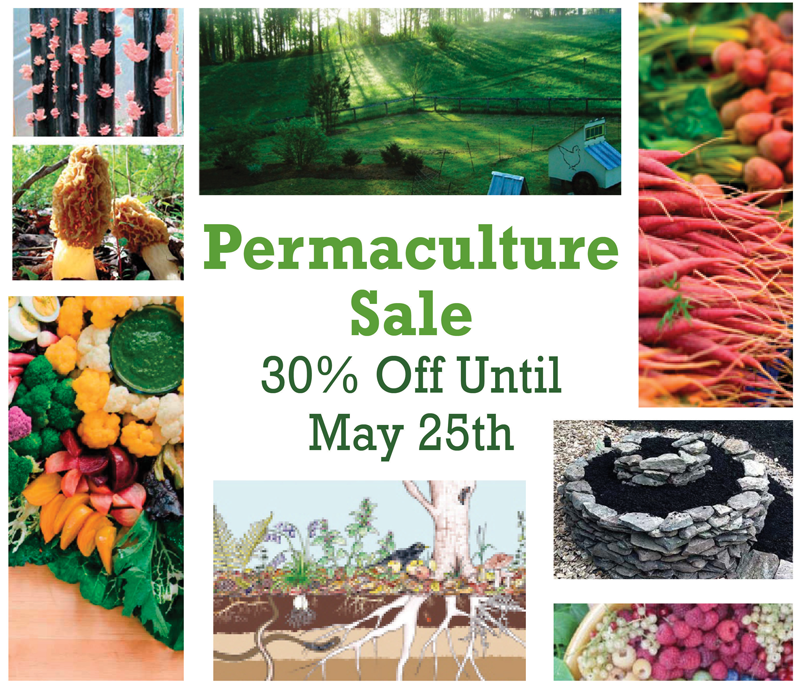 Permaculture Special: 30% off ALL Permaculture Books