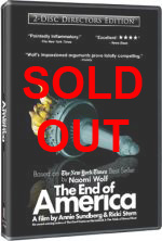 The End of America Cover
