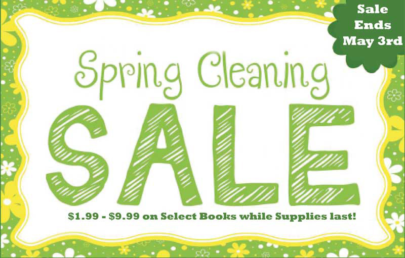 April Showers Bring Fresh Savings: Spring Cleaning Sale!