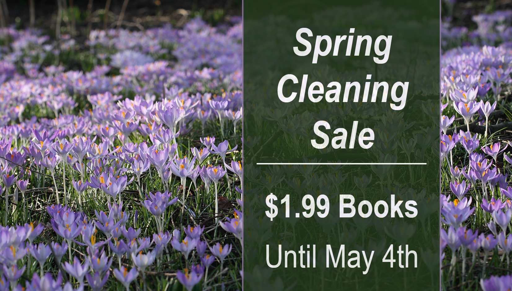 Spring Cleaning Sale: $1.99 Books