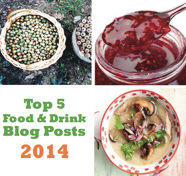 Our Top 5 Food & Drink Blog Posts of 2014