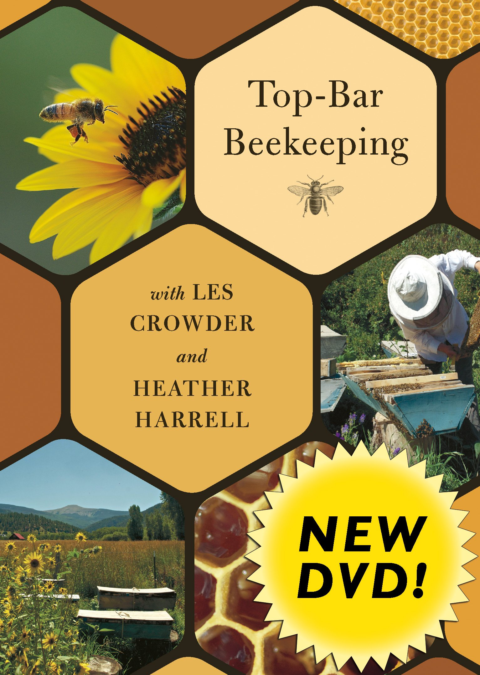 Top-Bar Beekeeping with Les Crowder and Heather Harrell (DVD) Cover