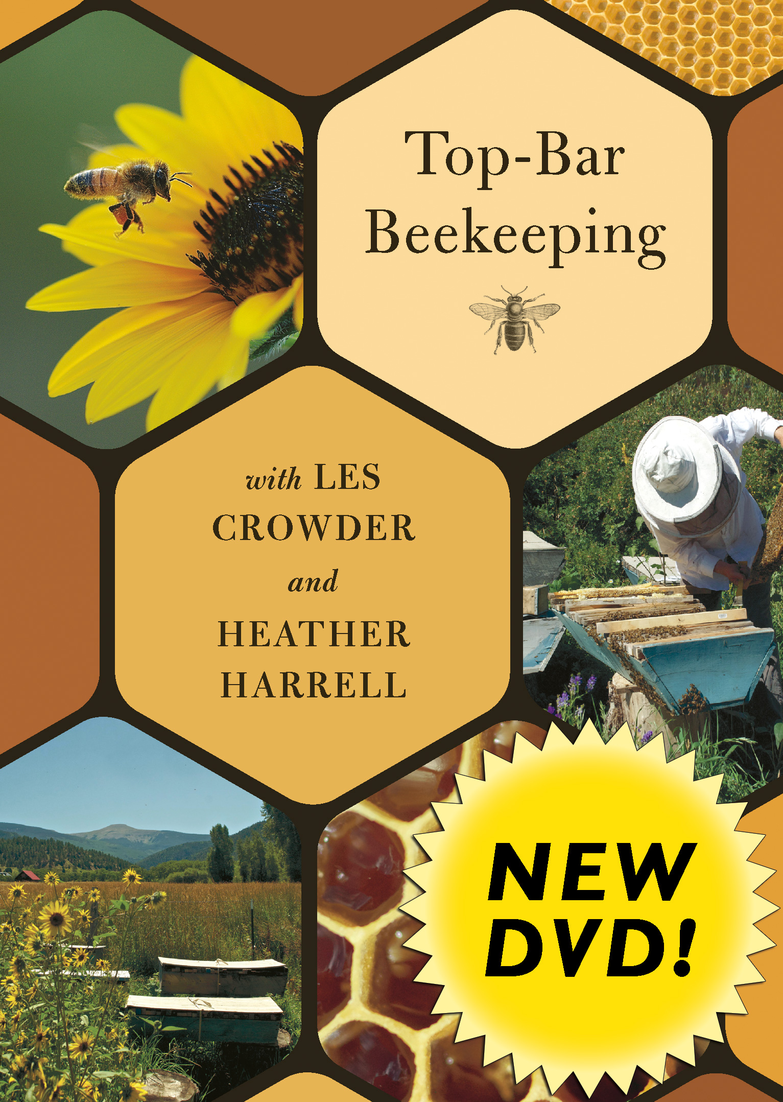 Top Bar Beekeeping DVD Cover