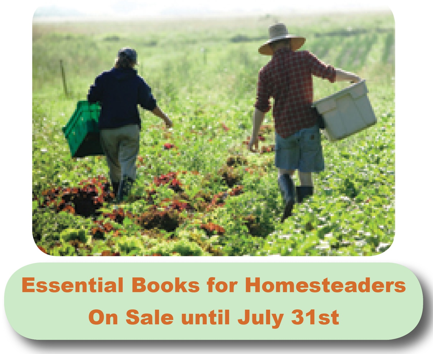 25% off Essential Books for Homesteaders