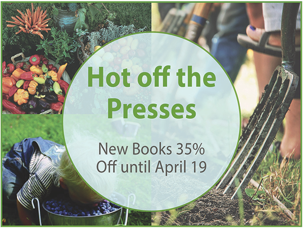 New Arrivals: Save 35% On New Spring Books!