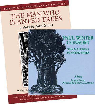 The Man Who Planted Trees Book and CD Bundle
