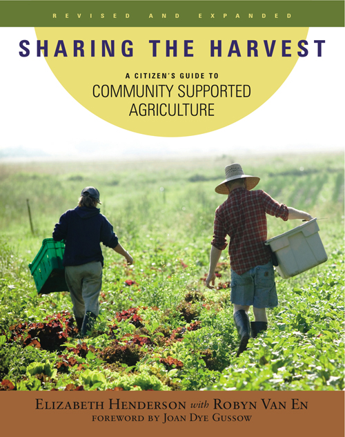 Sharing the Harvest Cover Image