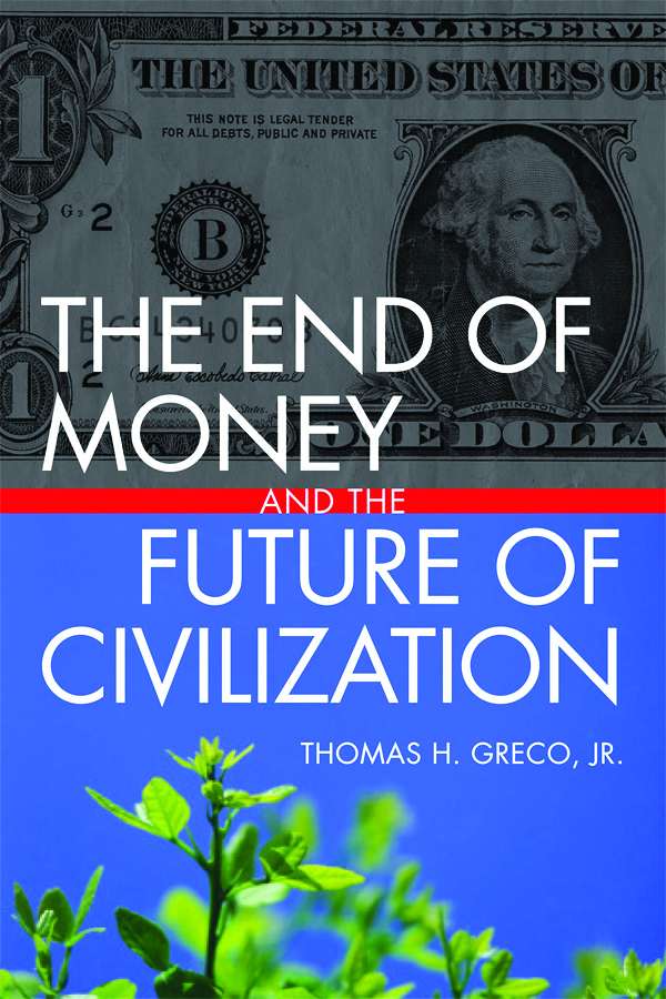 End Of Money Cover