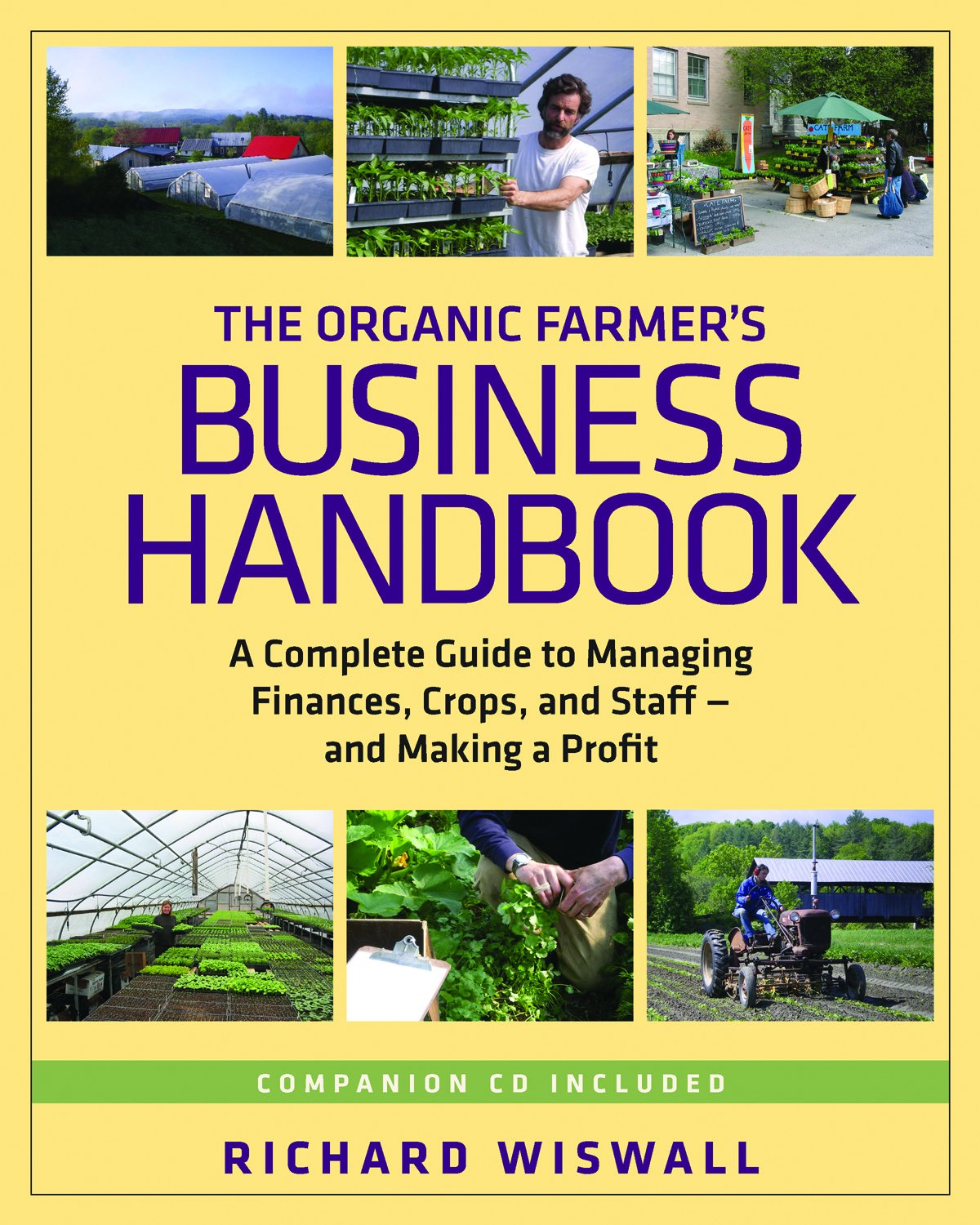 The Organic Farmer's Business Handbook Cover Image