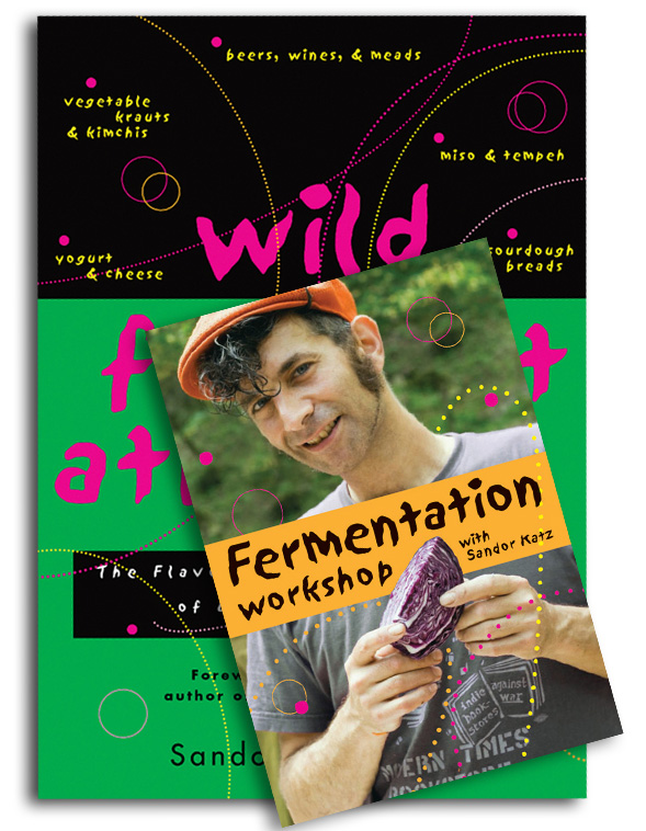Wild Fermentation and Fermentation Workshop Bundle