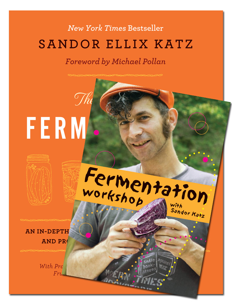 The Art of Fermentation and Fermentation Workshop Bundle