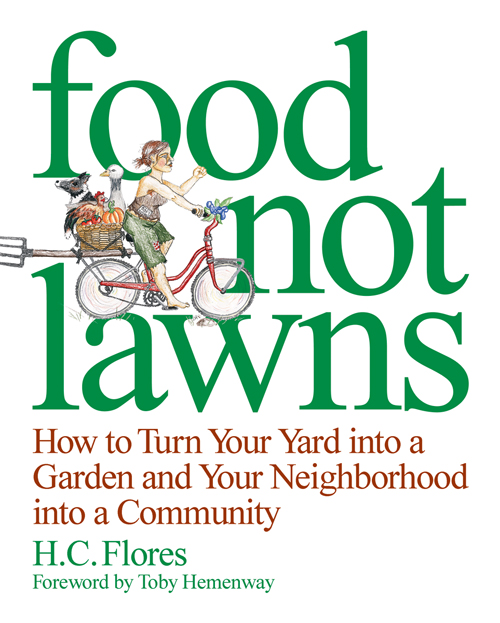 Food Not Lawns Cover