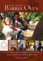 Build Your Own Barrel Oven cover