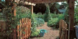 Gateway to a garden