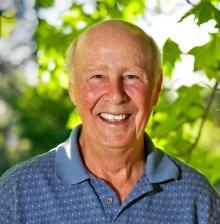 Gene Logsdon headshot