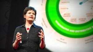 Kate Raworth speaking
