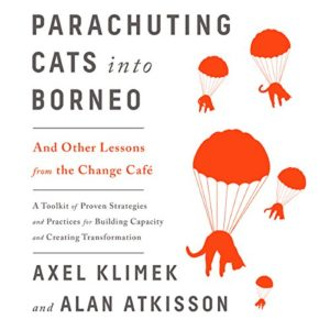 parachuting cats into borneo audiobook cover