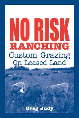 The No Risk Ranching cover