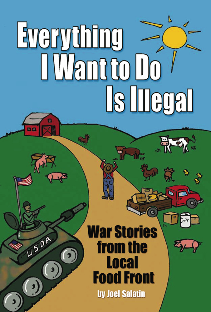 The Everything I Want To Do Is Illegal cover
