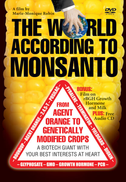 The World According to Monsanto (DVD) cover