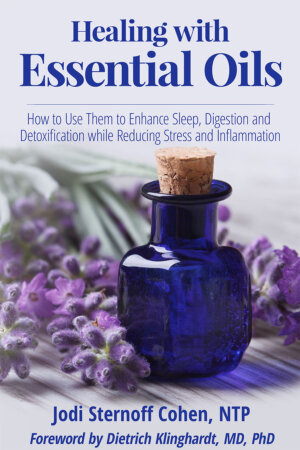 The Healing with Essential Oils cover