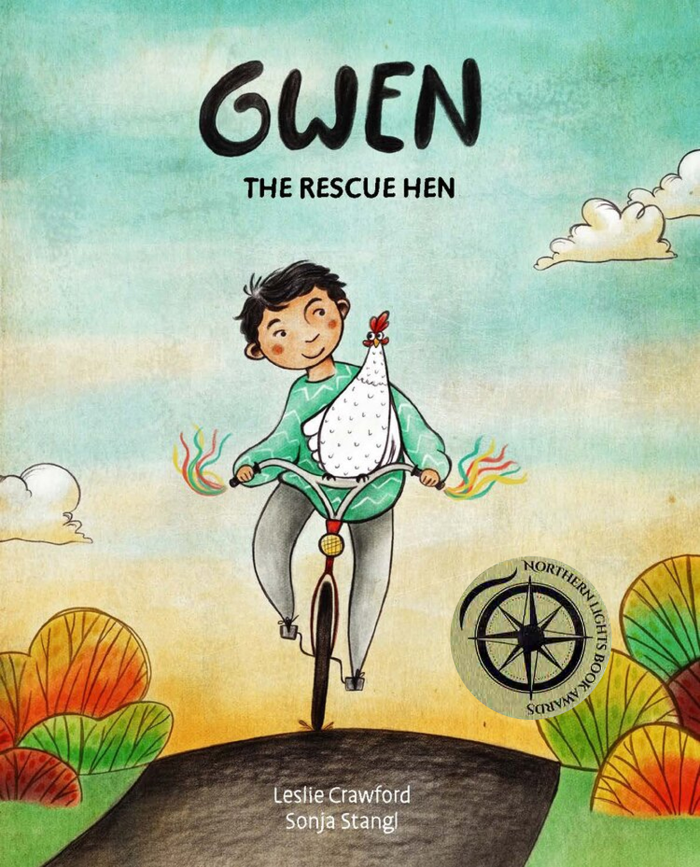 The Gwen the Rescue Hen cover