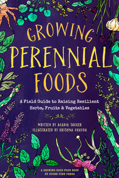 The Growing Perennial Foods cover