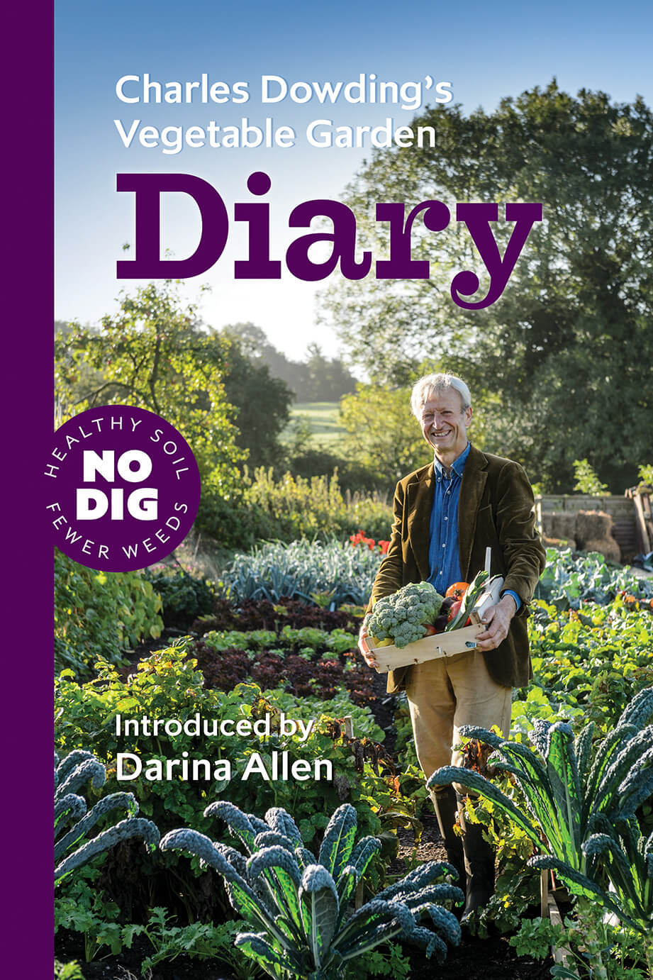 The Charles Dowding's Vegetable Garden Diary cover