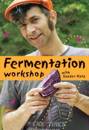 The Fermentation Workshop with Sandor Katz (DVD) cover