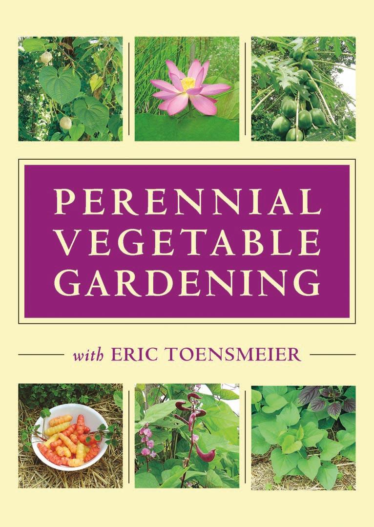The Perennial Vegetable Gardening with Eric Toensmeier (DVD) cover