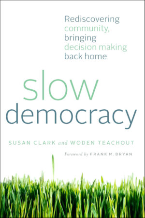 The Slow Democracy cover