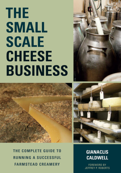 The Small-Scale Cheese Business cover