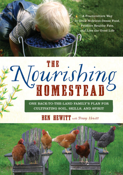 The Nourishing Homestead cover