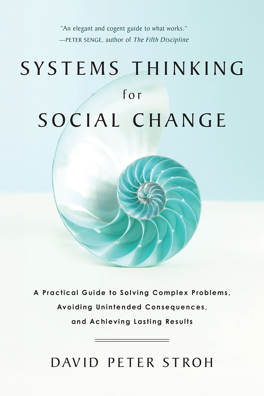 The Systems Thinking For Social Change cover