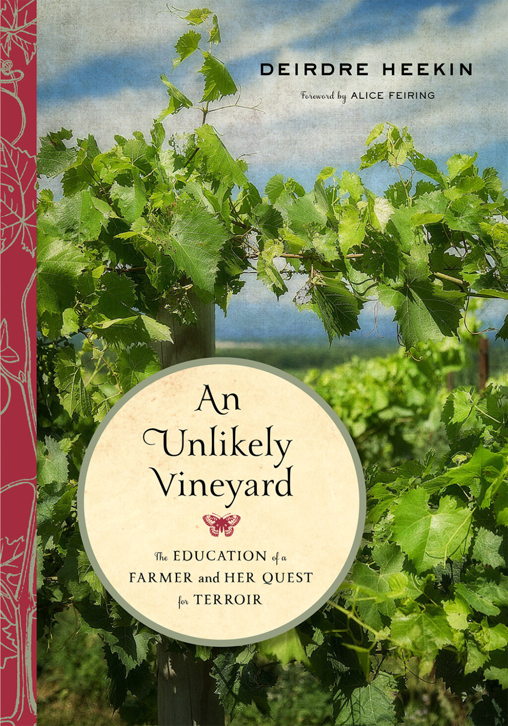The Unlikely Vineyard cover