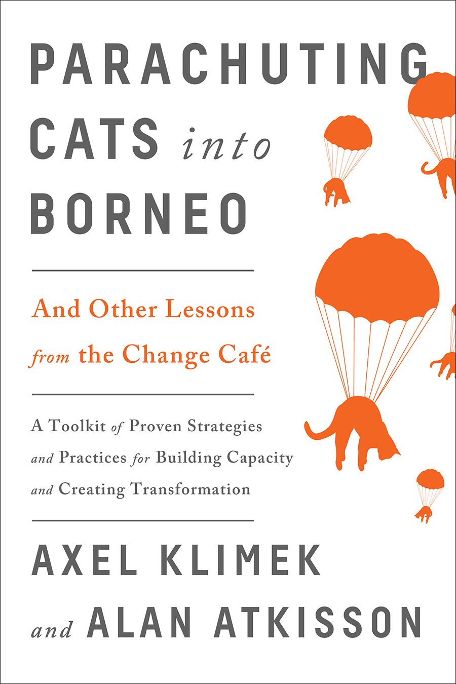 The Parachuting Cats into Borneo cover