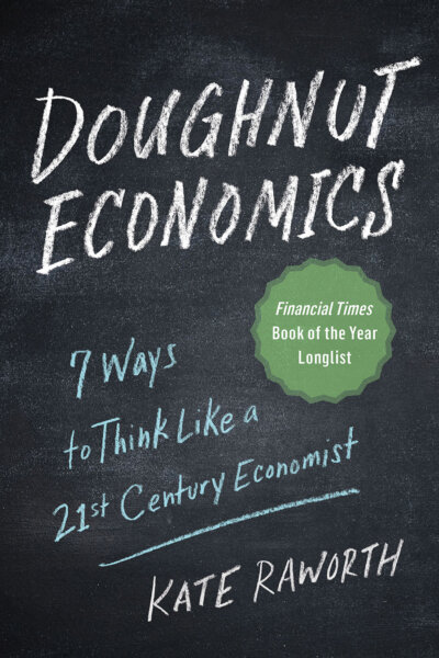 The Doughnut Economics cover